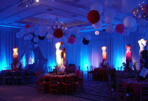 Led decor lighting for centerpieces