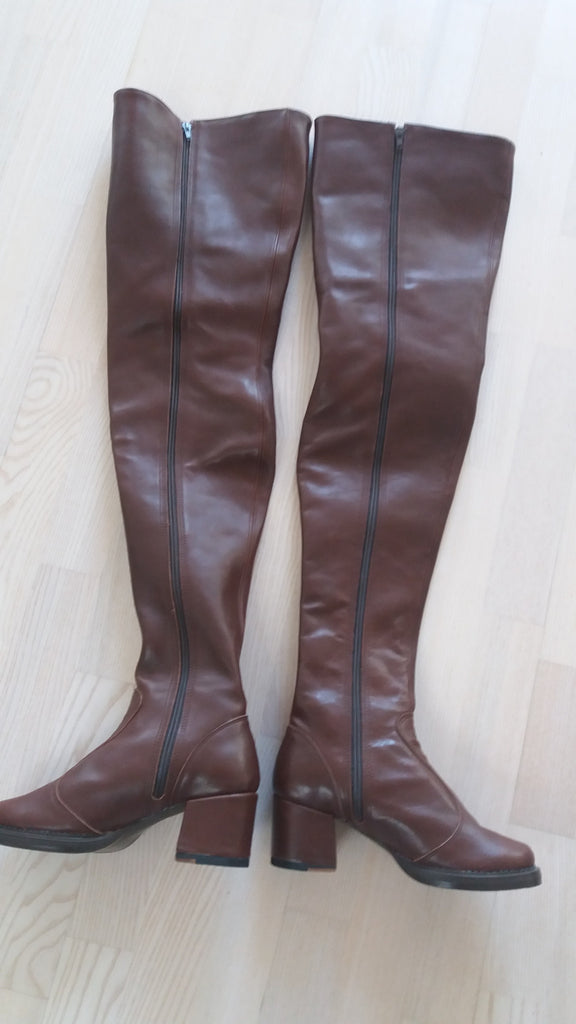 Vintage thigh high boots