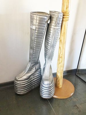 Ace Frehley/Detroyer boots made of eco leather/Spaceman boots