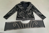 KISS Paul stanley Bandid jacket and belt