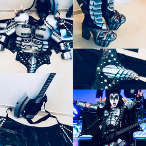 gene simmons monster costume and boots
