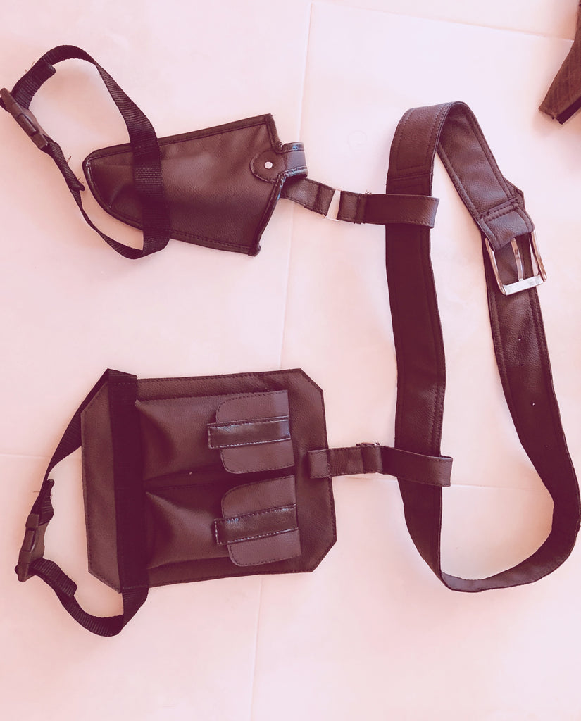 cosplay holster and side bags