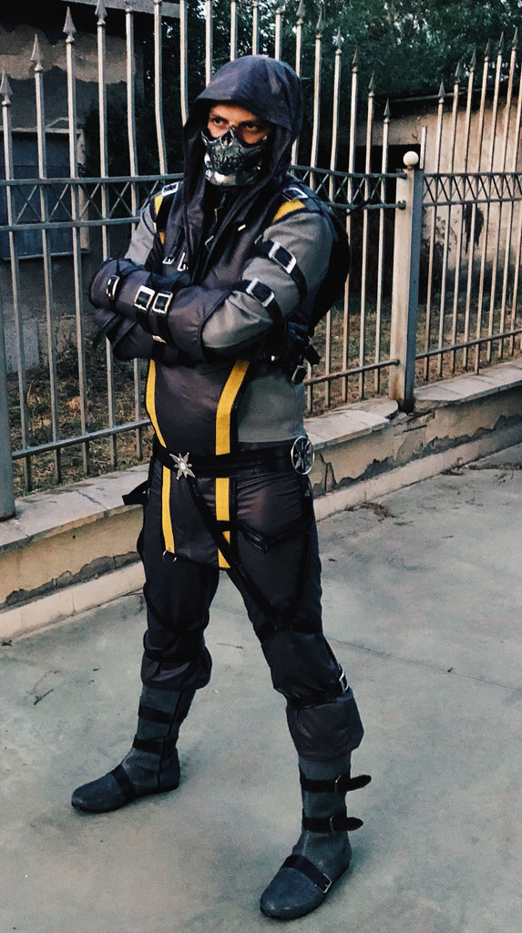 SCORPION SPEC OPS cosplay costume with 6 step deferred payment plan