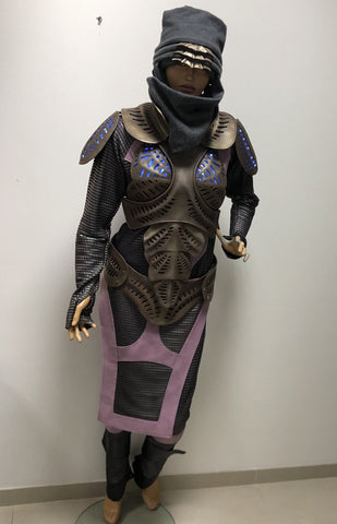 Defiance Kindzi costume made to individual measurements