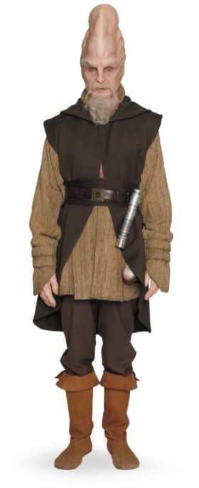 Ki Adi Mundi Jedi Surcoat/Robe and Long Sleeve shirt