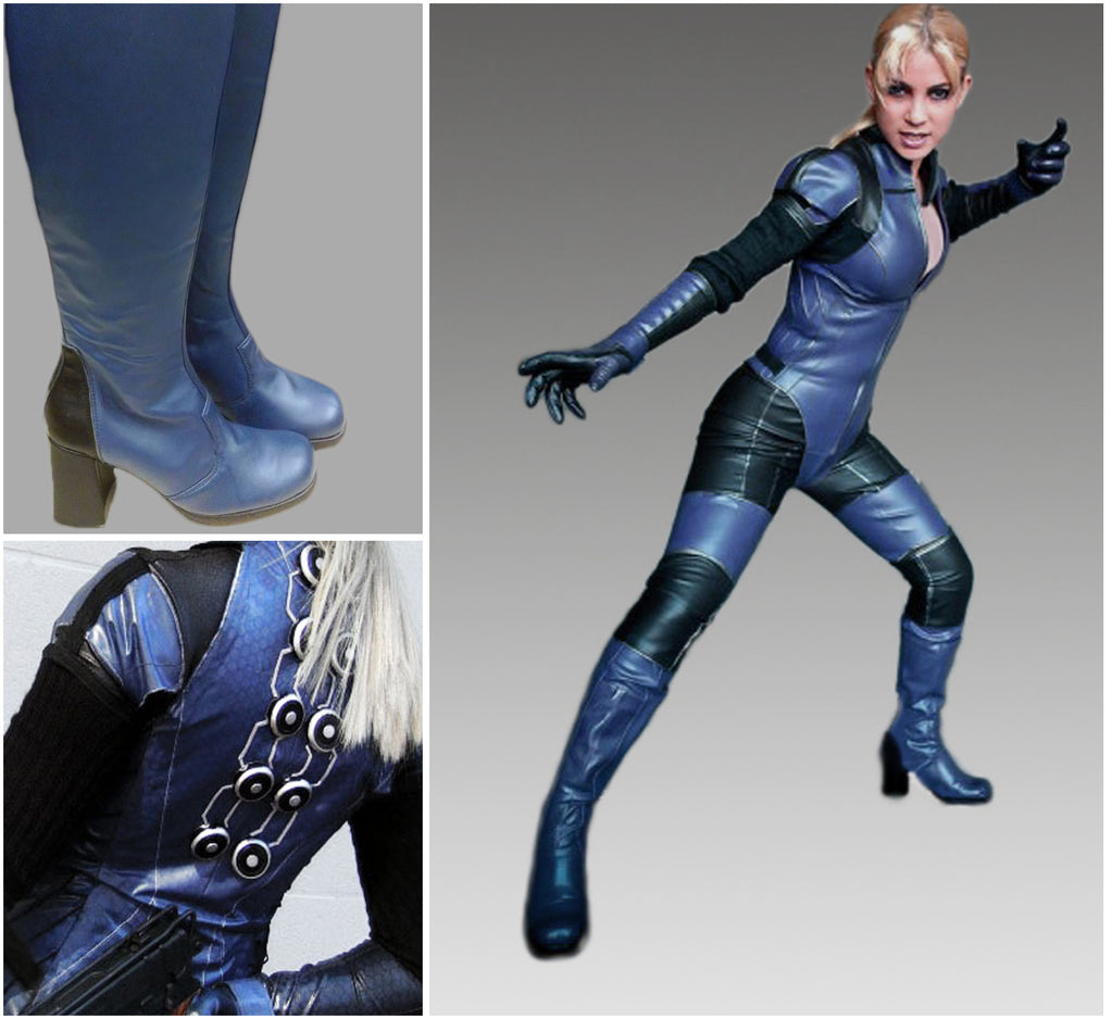 Reserved: Jill Valentine cosplay costume in green for Eve