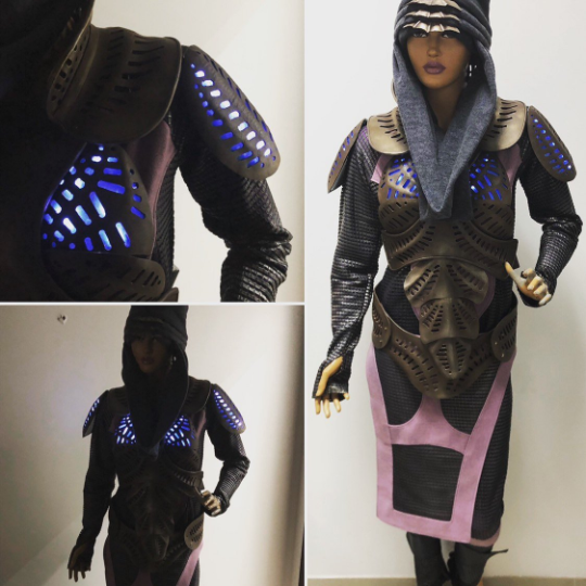 Defiance Kindzi costume and armour