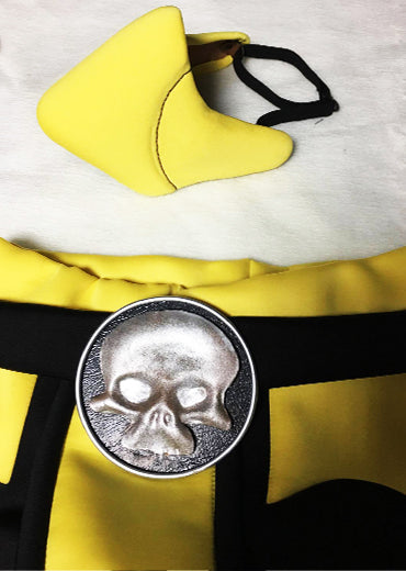 Mortal Kombat X Klassic Scorpion Mask And Skull Clasp Partytask