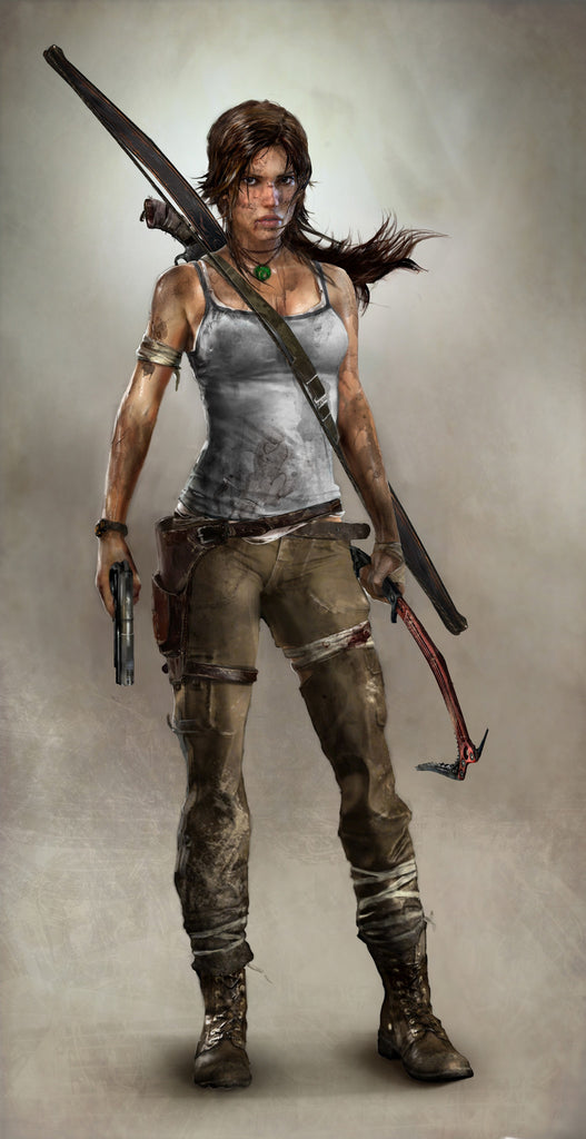 Reserved for Carli: Rise of the Tomb Raider costume with boots and accessories