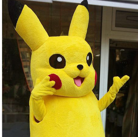 Pokemon costume/Pokemon mascot/High quality cosplay costume/Pokemon Go/Chase Pokemon