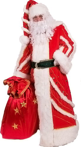 santa claus quality costume
