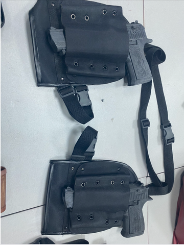 Deadpool 2 PRO holsters, pouches, belts and gloves/ Deadpool cosplay costume belts, pouches, holsters and knife holder