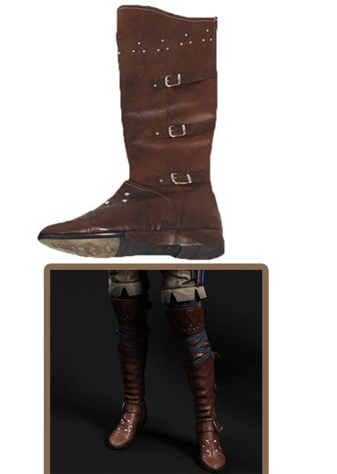 Triss Marigold cosplay boots