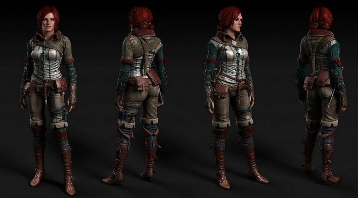 Triss Marigold costume and boots