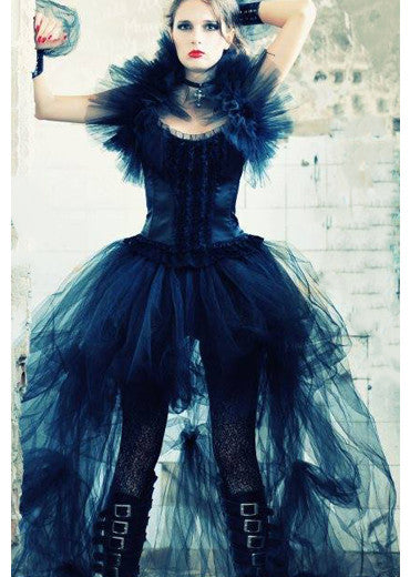Gothic prom dress/ Alternative wedding dress/Alternative prom dress