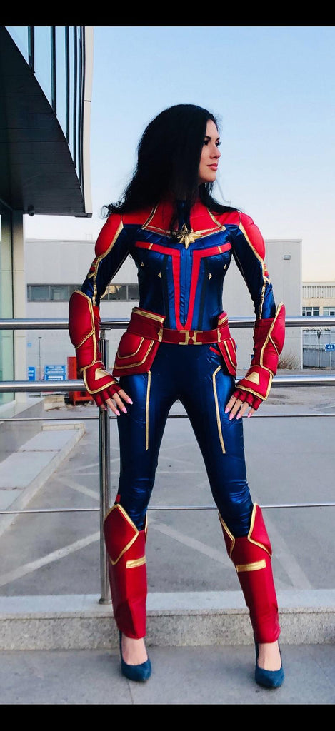 captain mavel costume