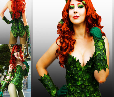 Poison Ivy cosplay costume accessories
