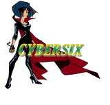 Cybersix full cosplay costume with hat and gloves