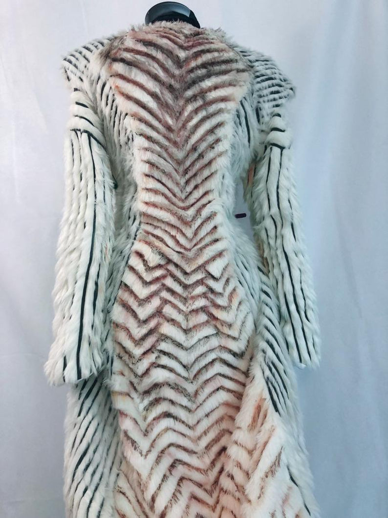 black and white daenerys coat