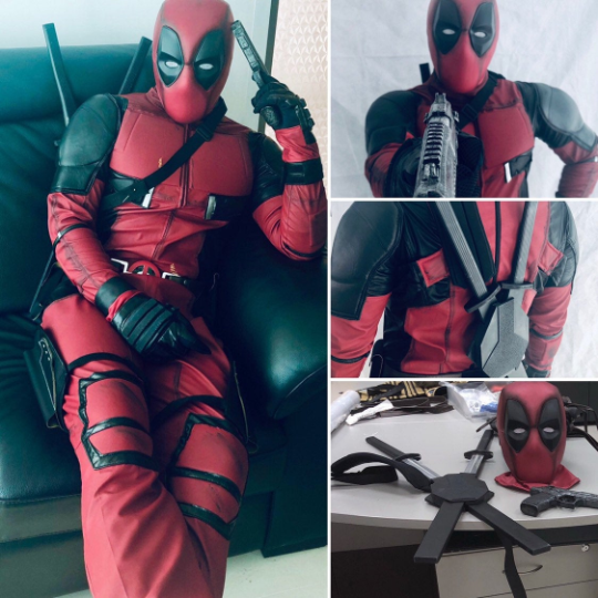 deadpool movie costume buy online