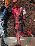 PAYMENT PLAN: Deadpool costume with Deadpool mask and boots w/ SHELL mask + shipping included