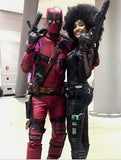 deadpool movie costume and deadpool weapons