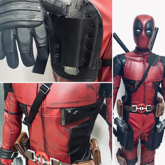 Deadpool 2 movie PRO costume and mask