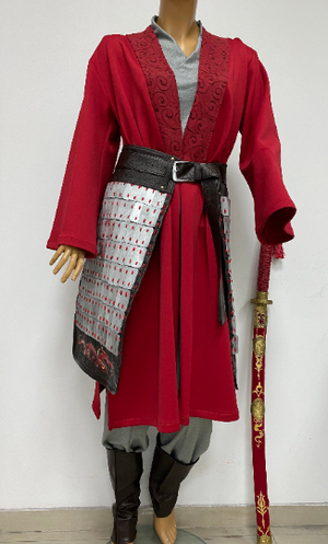 Mulan movie costume