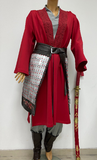 Mulan costume made to personal measurements