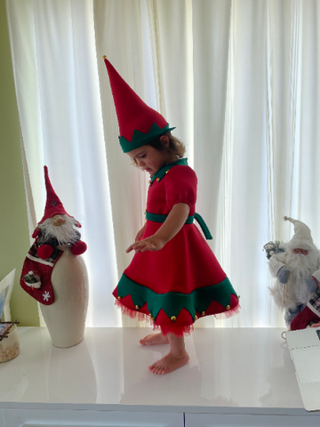 girls elf outfit