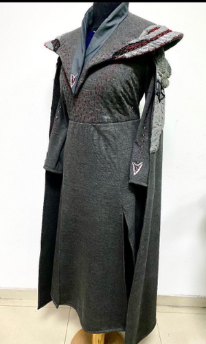 Daenerys coat season 8 / Queen of Dragons costume / Game of Thrones inspired coat / Medieval garments