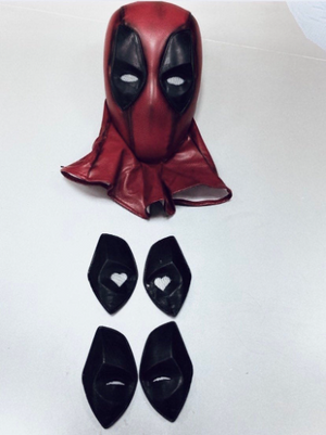 Deadpool mask/ Deadpool shell mask/Deadpool movie mask with FREE standard shipping included