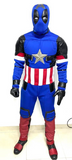 Captain America Deadpool costume