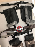 Deadpool gun holsters and belt