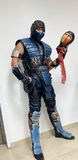 Sub Zero custom cosplay with scorpion head and sub zero mask