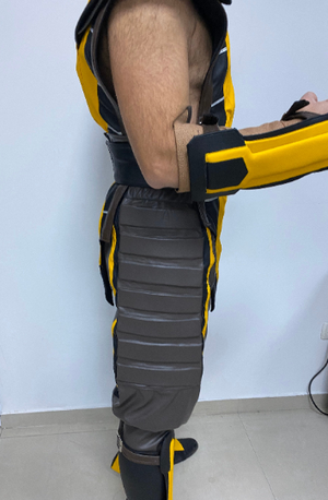 Mortal Kombat Scorpion cosplay costume