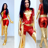 Dark Phoenix custom full cosplay with built in soles