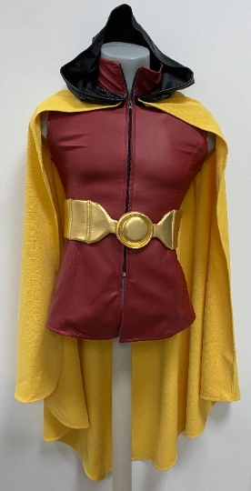 Red Robin tunic and cape belt