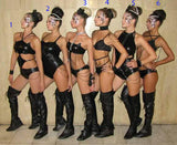 Show girl suit/Ballet costumes/Stage suits/Stage outfit/Show girl costumes/Sexy dancer costume