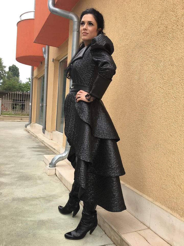 Once upon a time  inspired tuxedo jacket/Sexy tuxedo jacket/Black leather coat
