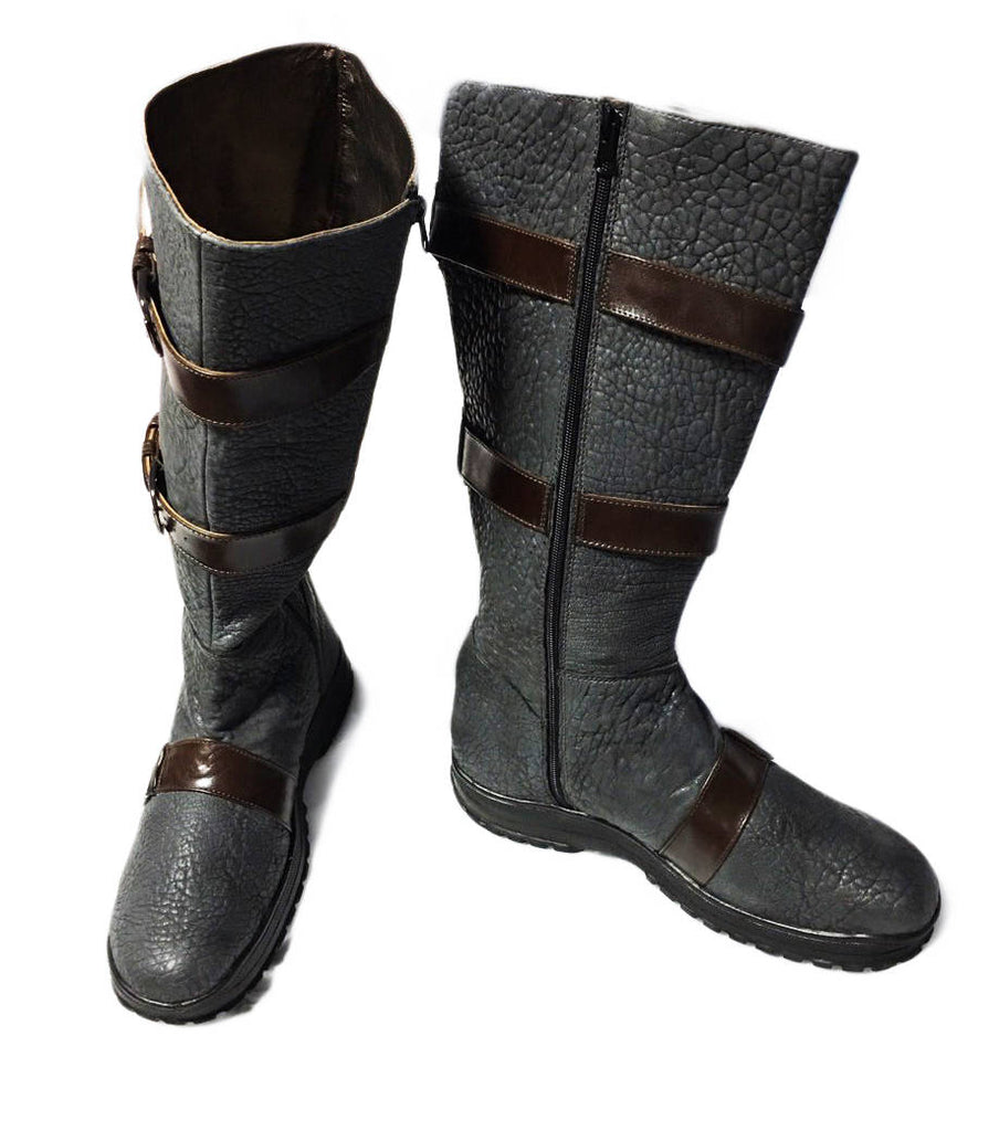 Mortal Kombat Scorpion cosplay boots