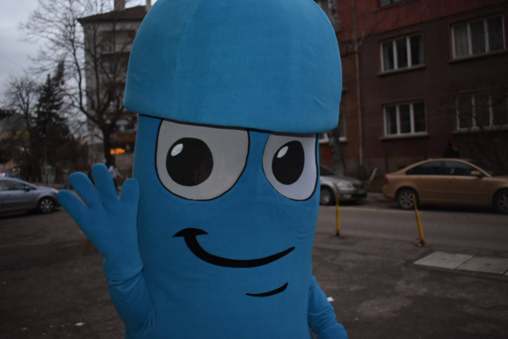 Dick mascot costume / Custom mascot/ Mascot made to individual project/ Company mascot/ Brand mascot
