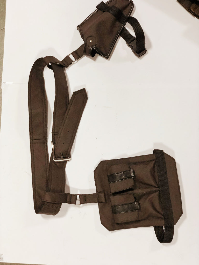 Ammo pockets/Fanny bags/ Hunting pockets/ Leather belt/ Gun holder/ body harness