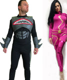Lava Girl Adult Costume / Shark Boy Adult Costume