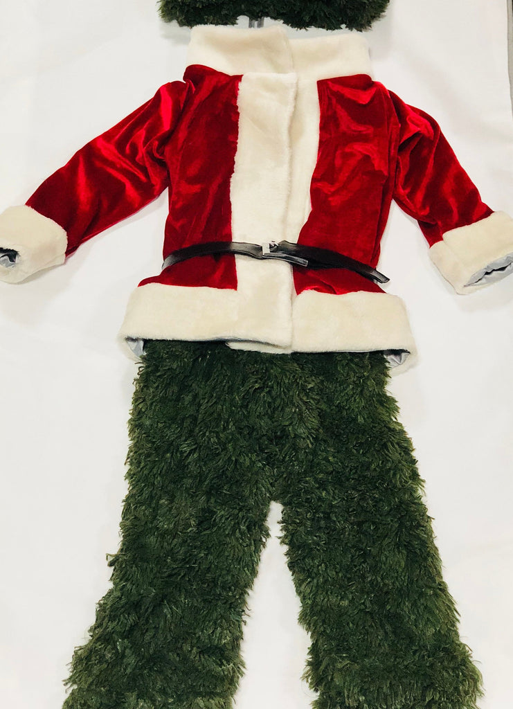 The Grinch stole Christmas toddler costume
