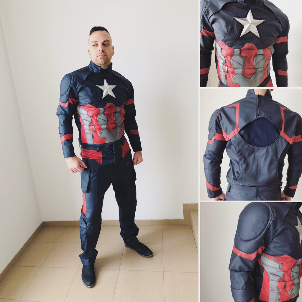 Captain America Civil War cosplay costume