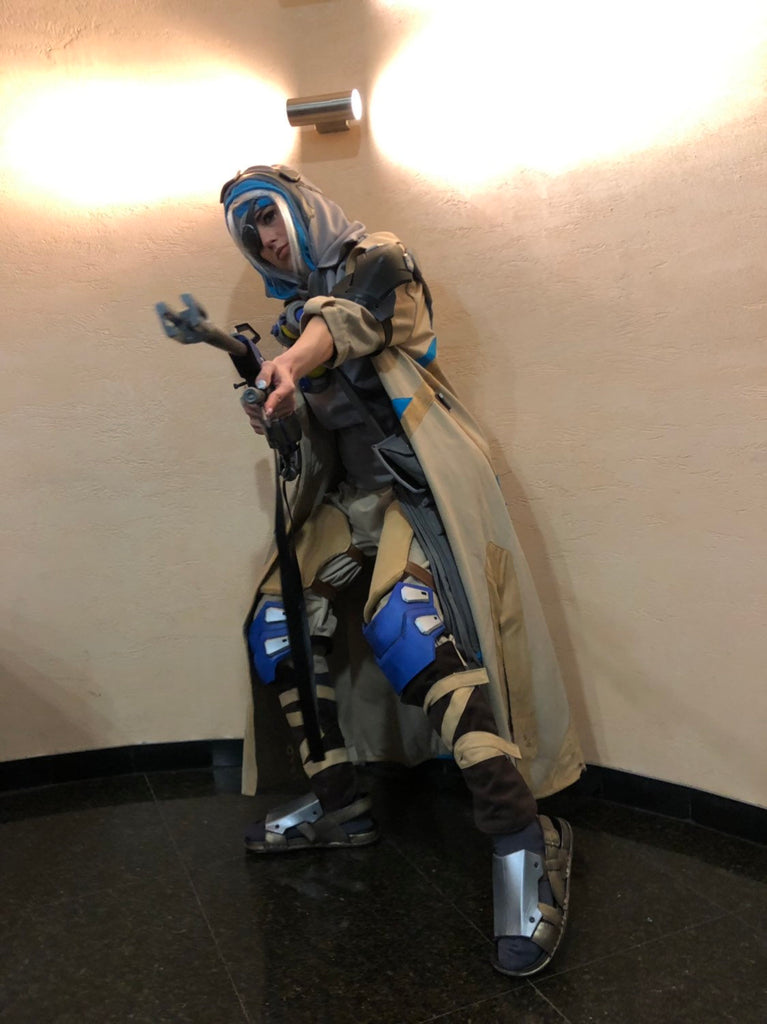 Ana Overwatch  full cosplay with armour