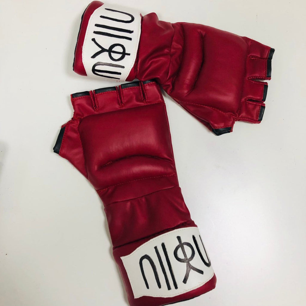 Ryu leather padded coplay gloves