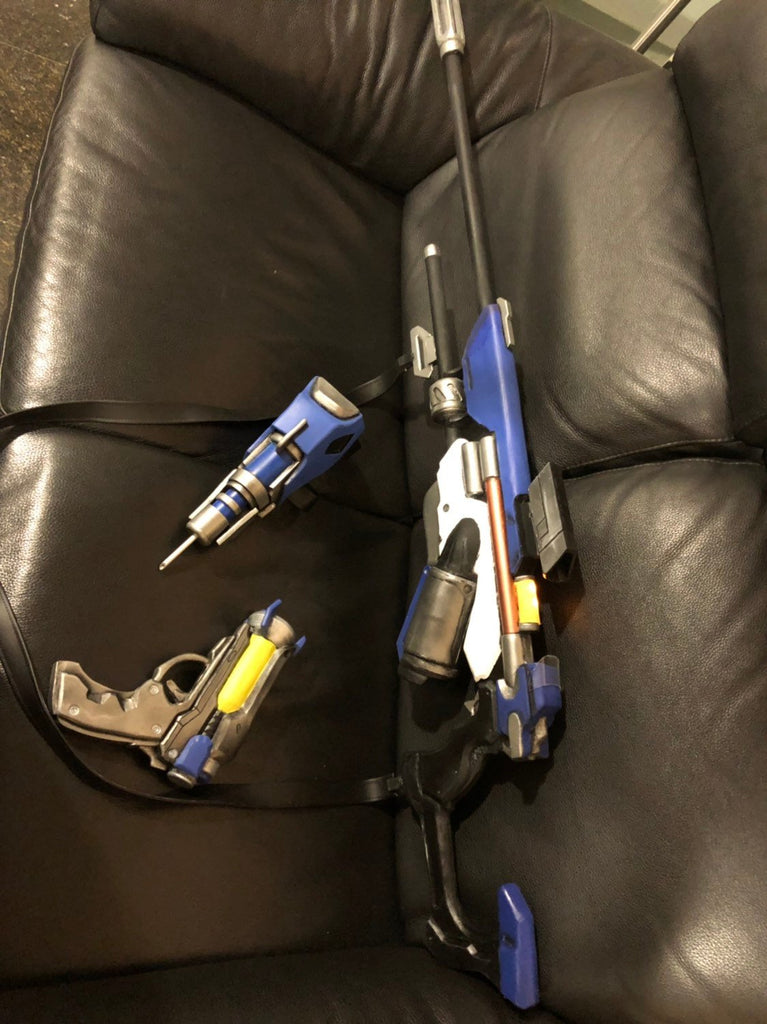 Ana  Overwatch weapons