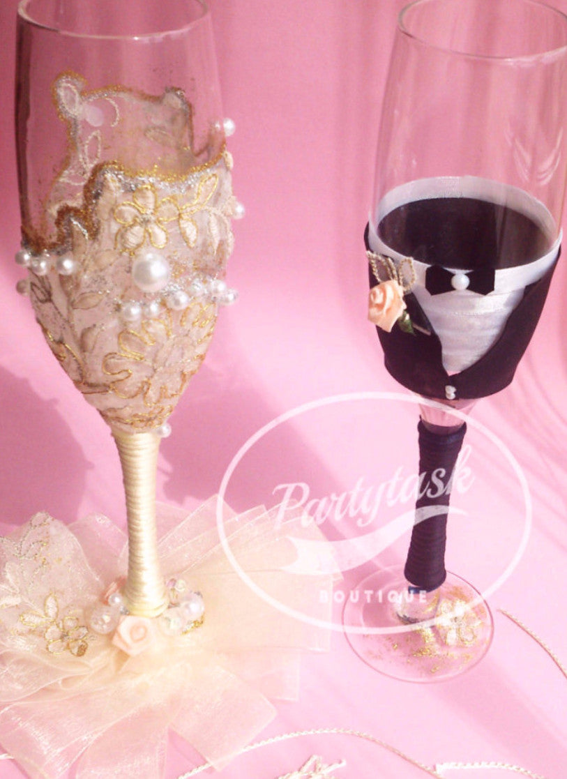 Luxurious Champagne Glasses \